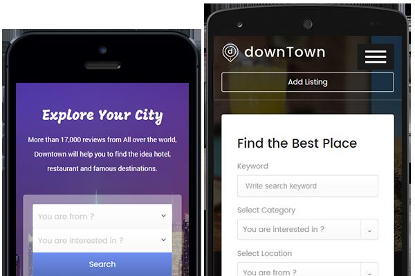 DWT Listing app